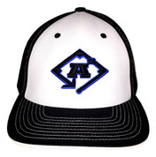 A3 Puff Logo Hat - Black & White