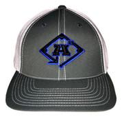 A3 Puff Logo Hat - Grey & White