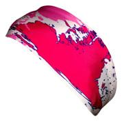 A3 Sub Dyed Headband - Pink, Purple, White
