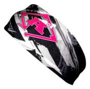 A3 Sub Dyed Headband - Black, Grey, Pink