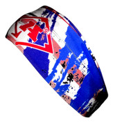 A3 Sub Dyed Headband - Red, White, Blue