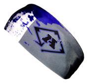 A3 Sub Dyed Headband -Grey, Blue, White