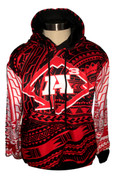 A3/Legends Poly Hoodie -Red