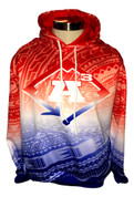 A3/Legends Red, White & Blue- Hoodie