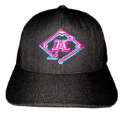A3 Puff Logo Hat - Snapback Black Heather