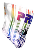 Pride Face Neck Gaiter  - White