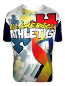 A3 Autism Awareness Ability Jersey- Short Sleeve