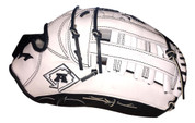 A3/Monsta Athletics Exclusive Infield/Outfield Glove - White 13.5""