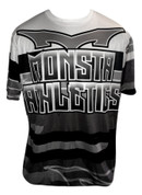 Monsta Athletics Bomb Jersey -White/Black