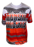 Monsta Athletics Bomb Jersey -Red