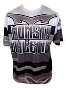 Monsta Athletics Bomb Jersey -Grey