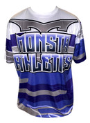 Monsta Athletics Bomb Jersey - Purple