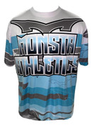 Monsta Athletics Bomb Jersey - Ice