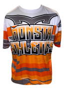 Monsta Athletics Bomb Jersey - Orange
