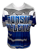 Monsta Athletics Bomb Jersey - Navy