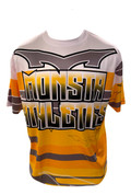 Monsta Athletics Bomb Jersey - Yellow