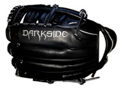 Darkside Fielding Glove - All Black 13.5""