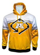 A3 HONEYCOMB HOODIE - YELLOW