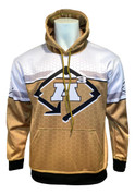 A3 HONEYCOMB HOODIE - GOLD