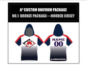A3 Custom Uniform Package 1 Bronze - Hooded Jersey