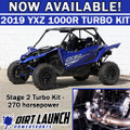 Dirt Launch Powersports 2019+ Stage 2 Turbo kit: Yamaha YXZ1000R 2019+
