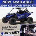 Dirt Launch Powersports 2019+ Stage 2 Turbo kit: Yamaha YXZ1000R 2019+