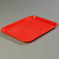 """Tray,plastic,10""""x14"""",red"""
