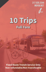 10 Trips - Full Fare