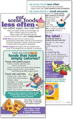 MyPlate - Foods less Often
