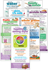 Set of MyPlate Nutrition cards
