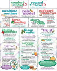 Set of Mealtime Parenting cards
