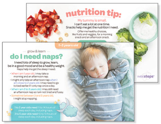 Naps - Grow & Learn Card
