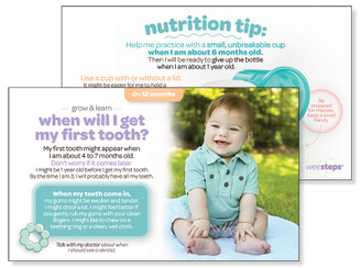First Tooth - Grow & Learn Card