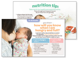 Baby Appetite - Grow & Learn Card