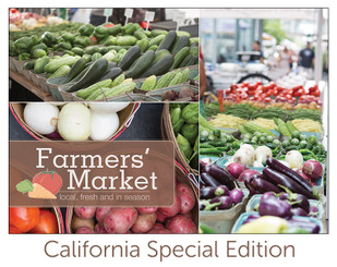 Spring Sale - Farmers Market book (California Special Edition)