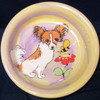 Skippette Chihuahua Hand-Painted Dog Bowl