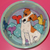 Ringy Dingy Jack Russell Hand-Painted Bowl