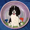 Darby English Spaniel Hand-Painted Bowl