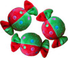 Xmas Rolled Candy Plush Toy