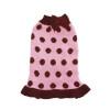 Pink Bubble Dot Sweater Dress