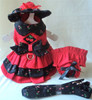 Black Cherry Harness Dress Set