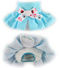 Diaper Skirt in Blue Cupcake