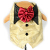 Gold Swirl Party Vest
