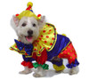 Happy Clown Dog Costume