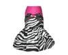 Haute & Wild Zebra Harness Dress