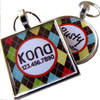 Preppy Argyle Pet ID Tag