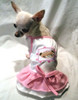 Beary Princess Ruffled Dog Dress