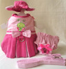 Butterfly Baby Harness Dress Set