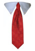 Red Diamond Tie Collar