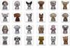 Breed Specific Rhinestone Stickers